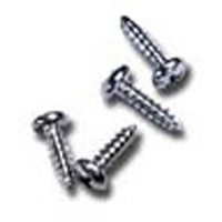 "3/8"" #4 Phlilips Head Stainless Screw 10-Pack"