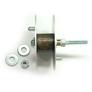 "3"" Aluminum Reel with Hardware"