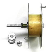 "4"" Aluminum Reel with Hardware"
