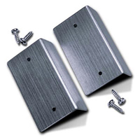 Aluminum End-Bracket with Screws (pair)