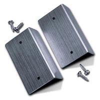 Aluminum End-Bracket with Screws (pair)