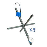 "26"" Cross NEON with Line - Set of 5"