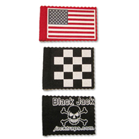 Pack of 5 Specialty Felt Flags