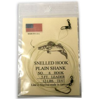 Jack Traps Approved Hook, Leader and Swivel